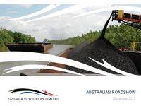 Australian Roadshow Presentation
