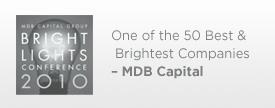 MDB Capital Award