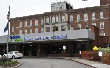 A picture of Westmoreland Regional Hospital Cafe Renovations