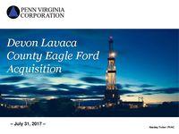 Devon Lavaca County Eagle Ford Acquisition