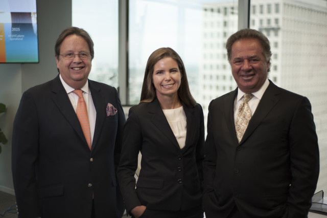 Meg Gentle named as President and Chief Executive Officer of Tellurian Investments; joining Charif Souki and Martin Houston to build a liquefied natural gas powerhouse