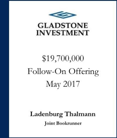Gladstone Investment
