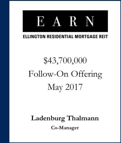 Ellington Residential Mortgage REIT