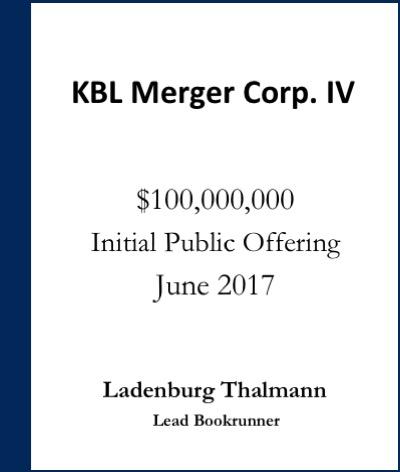 KBL Merger Corp. IV