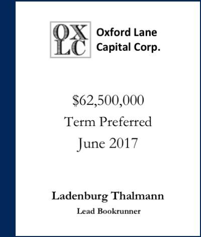 Oxford Lane Capital Corp.