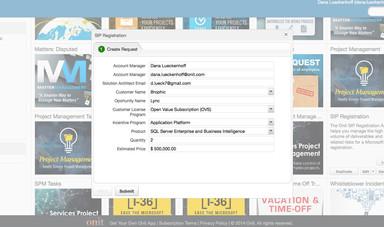 SIP Registration Screenshot