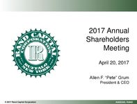 2017 Annual Shareholders Meeting