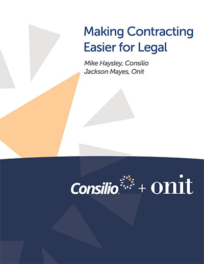 Making Contracting Easier For Legal