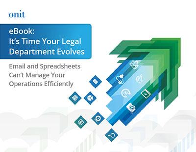 It's Time Your Legal Dept Evolves
