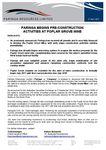 Paringa Begins Pre-construction Activites at Poplar Grove Mine