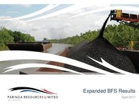 Company Presentation - Expanded BFS Results