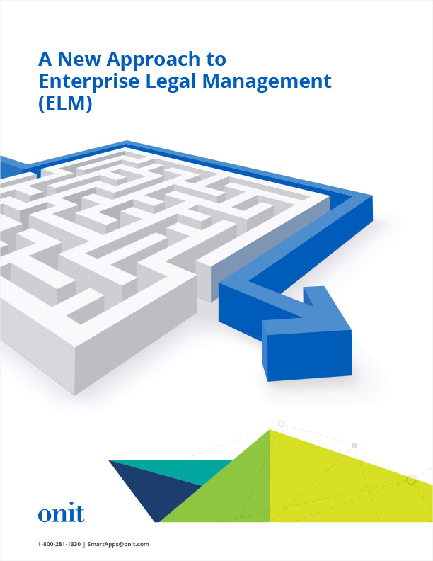 A New Approach to Enterprise Legal Management (ELM)