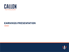 Earnings Presentation