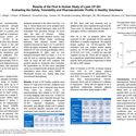Results of the First In Human Study of Lysin CF-301 Evaluating the Safety, Tolerability and Pharmacokinetic Profile in Healthy Volunteers