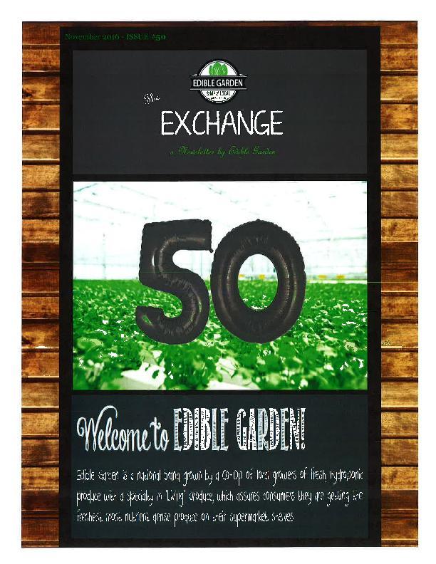 Exchange November 2 - 2016