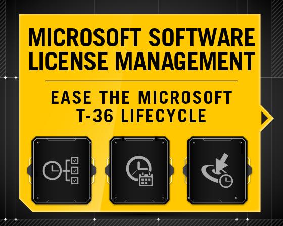 Microsoft Software License Management