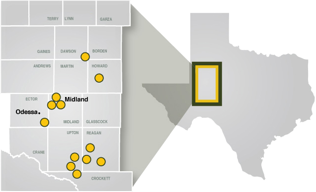 Permian Basin Map