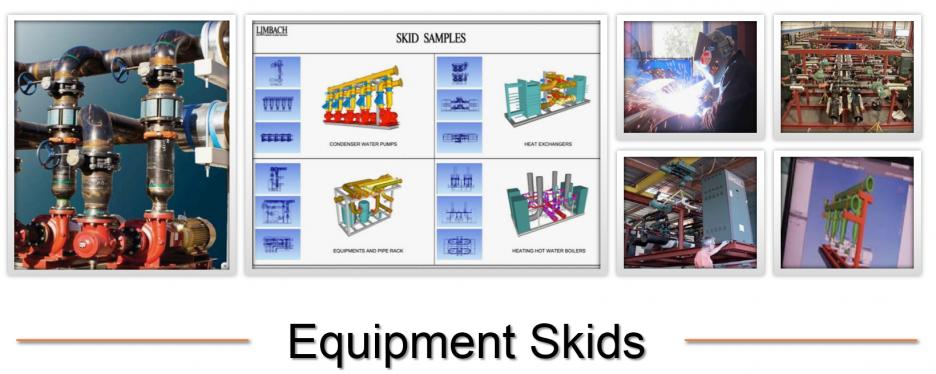 Equipment skids
