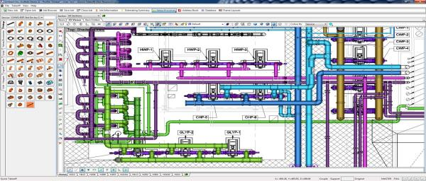 BIM Piping Model for LMPS5